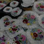カロチャ刺繍(ハンガリー)