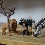 Schleich/動物達の水飲み場セット